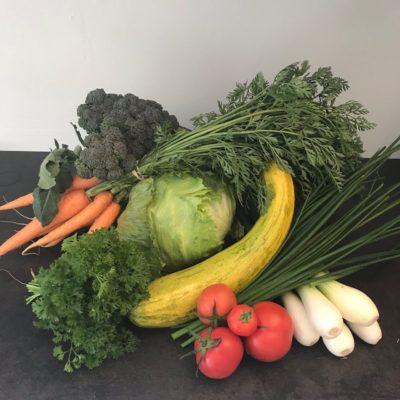 närodlade grönsaker