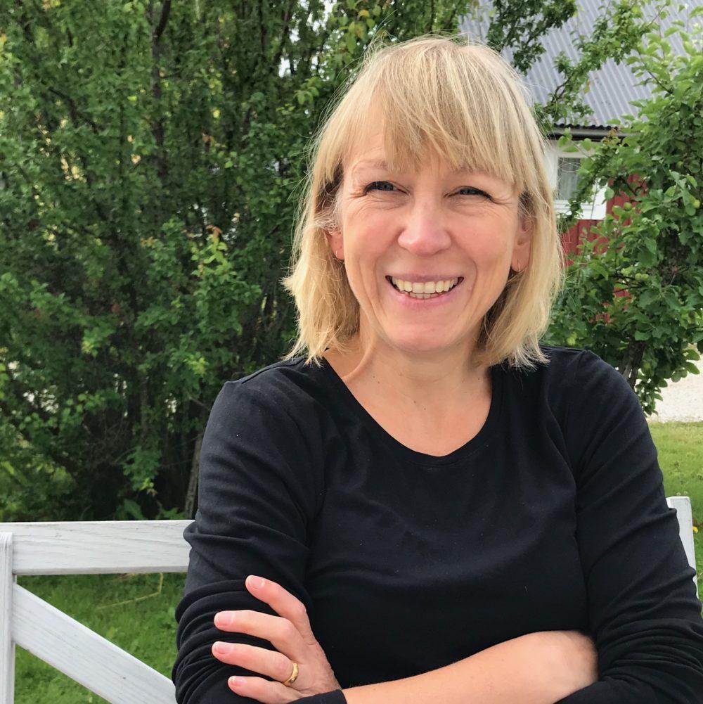 Porträttbild på radioproducenten Stina Näslund
