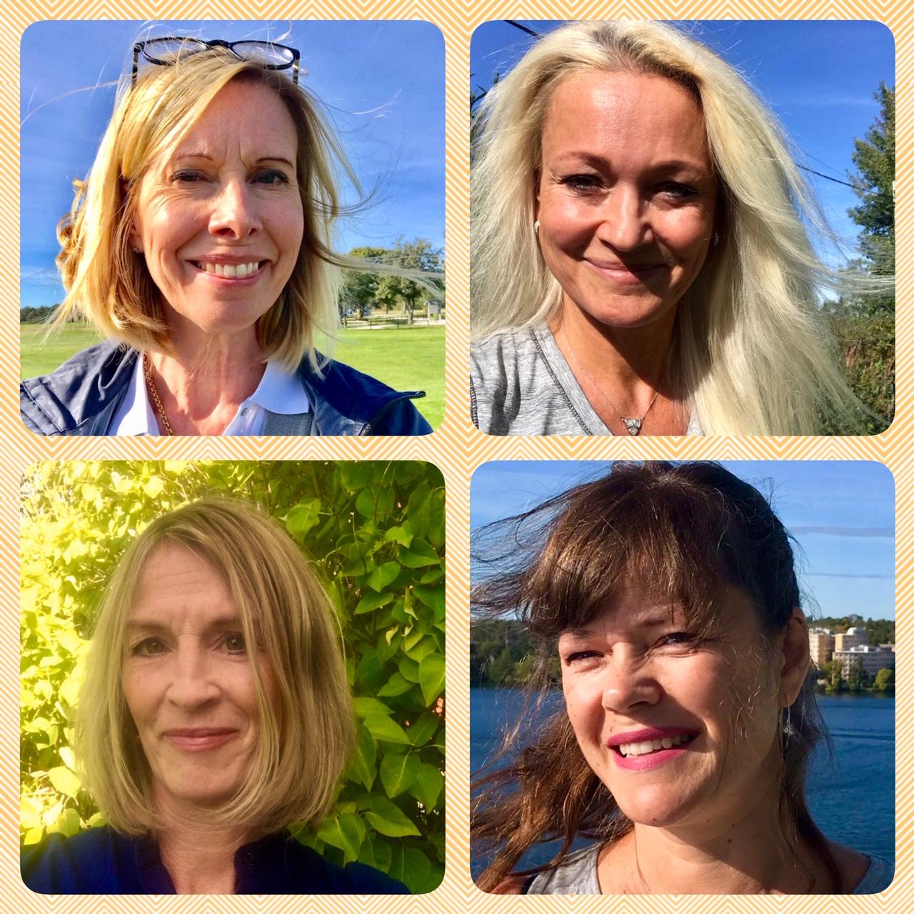 Klimakterieportalen fyra kvinnor
